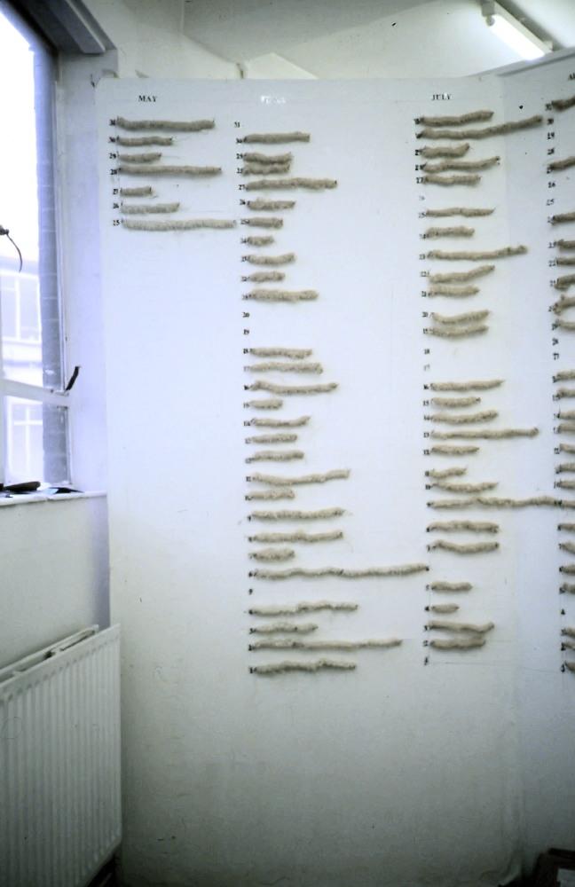 Grazyna Cydzik. process-based, unravelling