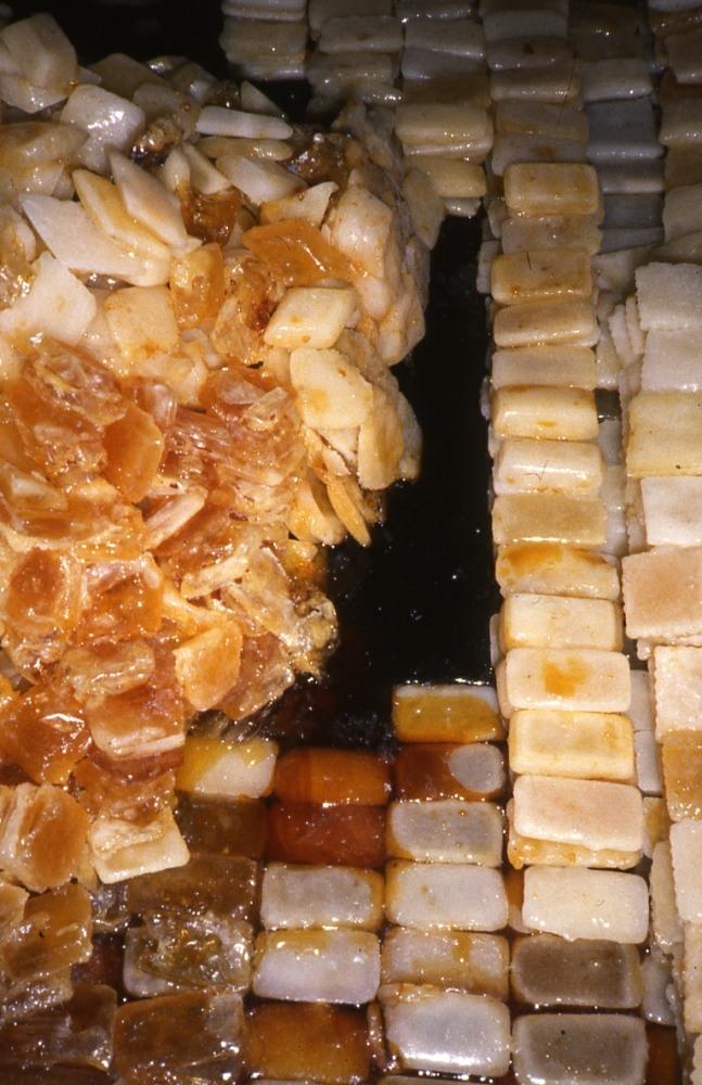 Grazyna Cydzik, process-based, Sugar